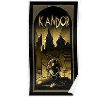 But who will save Kandor ? Poster
