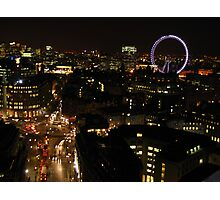 Night Falls on London Photographic Print