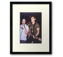 Seth Rogen & James Franco Framed Print