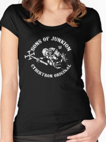 Sons Of Junkion Women's Fitted Scoop T-Shirt