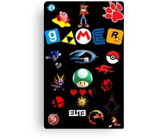 Gamer 4 Life Canvas Print