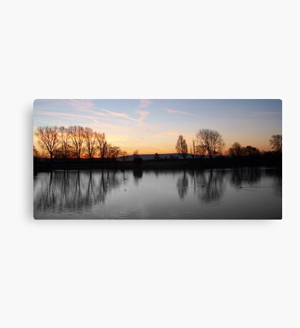 Obvious Difference Canvas Print