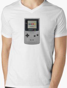 Gameboy for life Mens V-Neck T-Shirt
