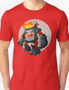 Burning Wood Man T-Shirt