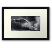 Winter Waves At Pipeline 19 Framed Print