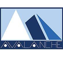 Avalanche  Photographic Print