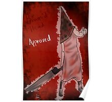 pyramid head approved  Poster
