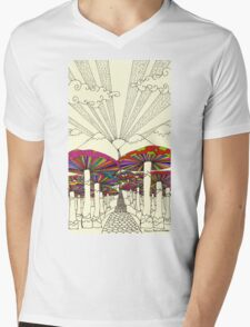 At The End Of The Road Mens V-Neck T-Shirt