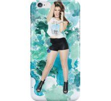 Lauren Jauregui Blue Splash!  iPhone Case/Skin