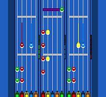 Guitar Hero 8-Bit by TheWangMeister