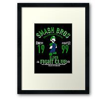 Mushroom Kingdom Fighter 2 Framed Print