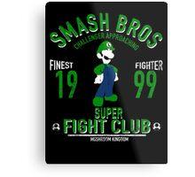 Mushroom Kingdom Fighter 2 Metal Print