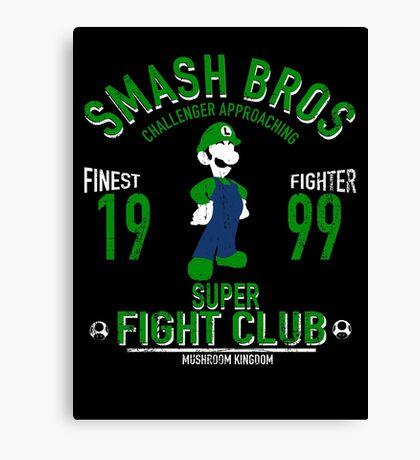 Mushroom Kingdom Fighter 2 Canvas Print