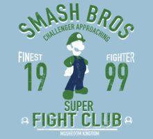 Mushroom Kingdom Fighter 2 Kids Tee