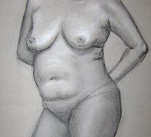 Figure Study by Ashley Hoffmann