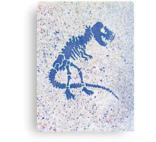 Tyrannosaurus rex | Street Portrait Canvas Print