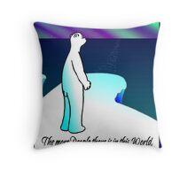 Vast World? Throw Pillow