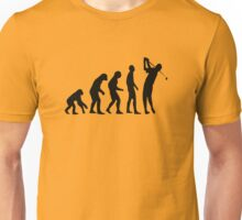 Golf evolution Unisex T-Shirt