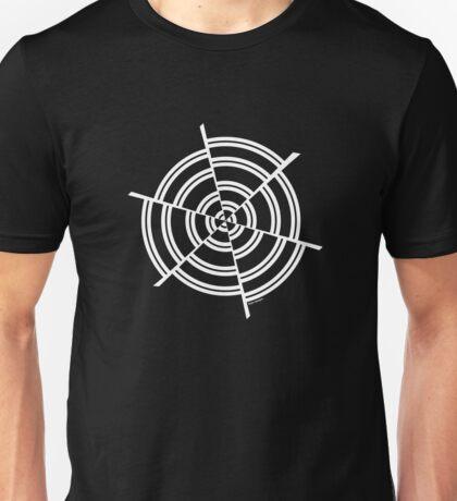Mandala 2 Simply White Unisex T-Shirt