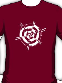 Mandala 3 Simply White T-Shirt