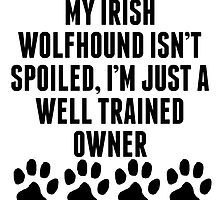 Well Trained Irish Wolfhound Owner by kwg2200