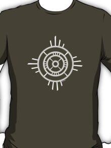 Mandala 4 Simply White T-Shirt