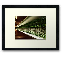 Pass One Down Framed Print