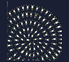 Penguin Fibonacci One Piece - Long Sleeve
