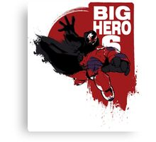Big Hero! Canvas Print