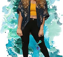 Dinah Jane Blue Splash!   by foreverbands
