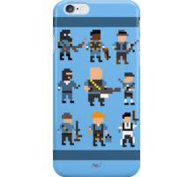 Team Fortress 2 8-Bit Blu Team iPhone Case/Skin