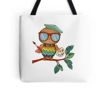 Little Wise Artist Tote Bag