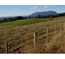 photoj Tas Mt Roland Country Photographic Print