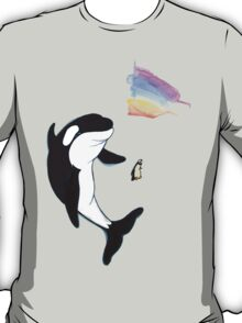 Best Friends Forever Whale and Penguin T-Shirt