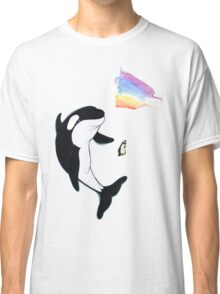 Best Friends Forever Whale and Penguin Classic T-Shirt