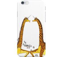 Uni-Giraffes Dancing iPhone Case/Skin
