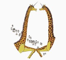Uni-Giraffes Dancing One Piece - Long Sleeve