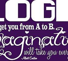 Logic vs Imagination by geekerymade