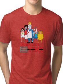 Burger Time Tri-blend T-Shirt