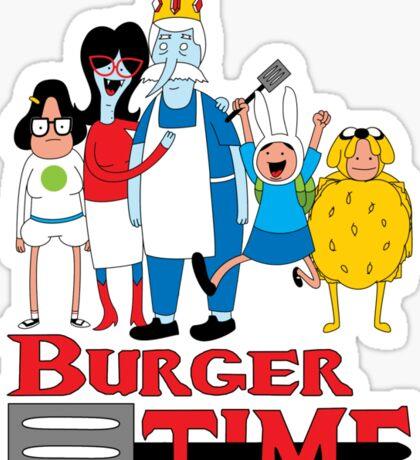 Burger Time Sticker