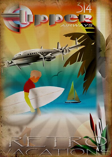 Retro Vacations by Cliff Vestergaard