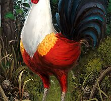 Rooster by giantclouds