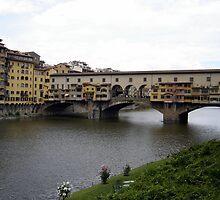 Pontevecchio of Florence by Luca Carangelo
