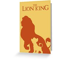 Simba: cub to king Greeting Card