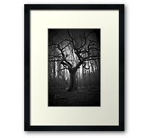 haunted tree Framed Print
