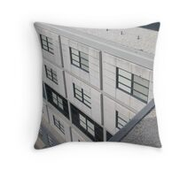 urban stack Throw Pillow