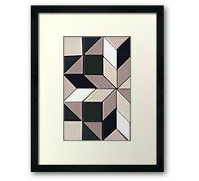 Wooden bricks Framed Print