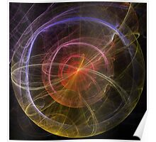 Abstract Art New World Poster