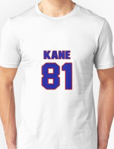 National football player Tommy Kane jersey 81 T-Shirt