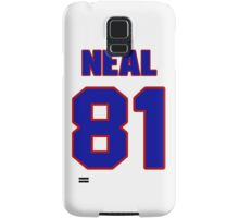 National football player Richard Neal jersey 81 Samsung Galaxy Case/Skin
